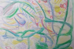 Watercolour Abstract after Olsen 1