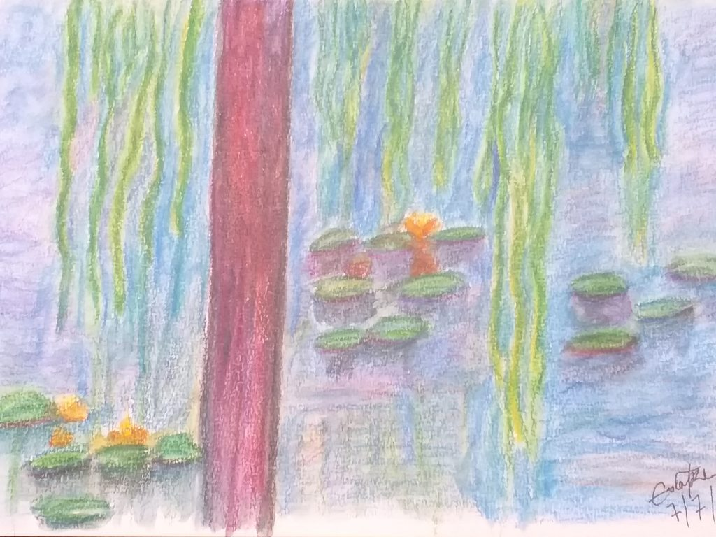 waterlilies - after Monet